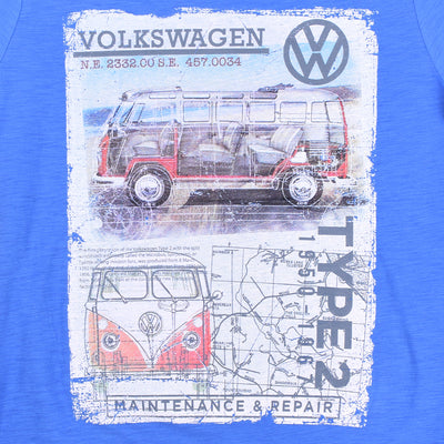 VOLKSWAGEN MEN`S CREW NECK TEE SHIRT - Crossconnections.com.pk