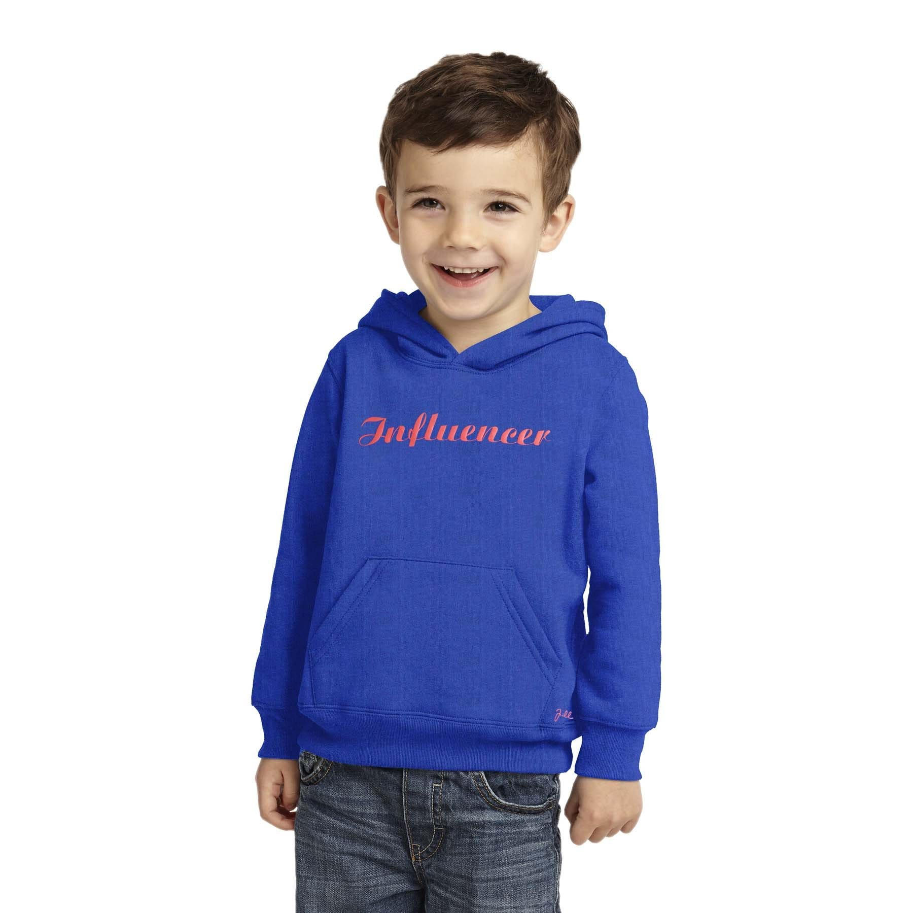 Henry James Boy's Zipper Hoodie Royal Blue / 11-12 Years Boy's Henry James Influencer Pullover HOODIE