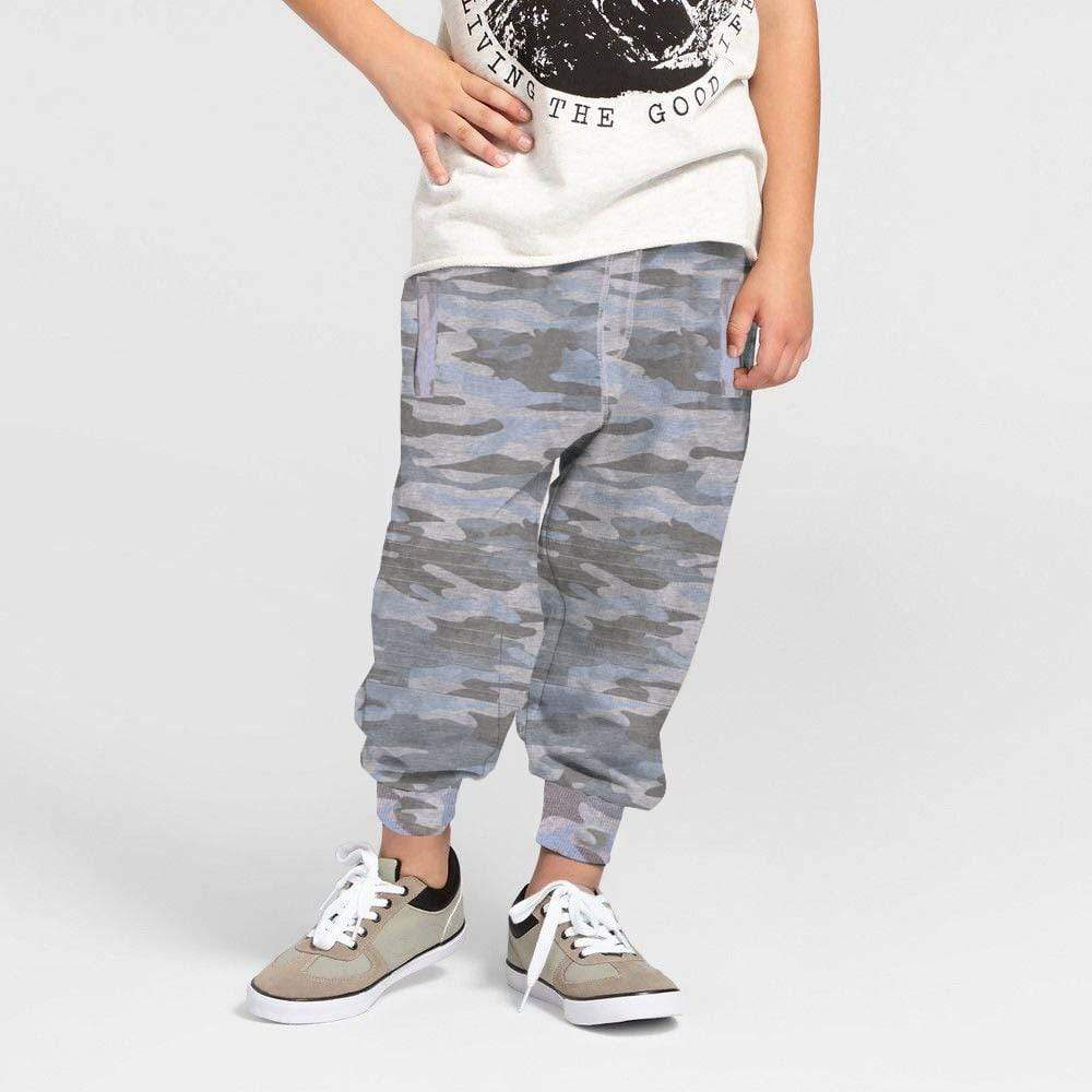 Henry James Kid's Jogger Grey / 8-9 Years Conall Camo Close bottom Joggers