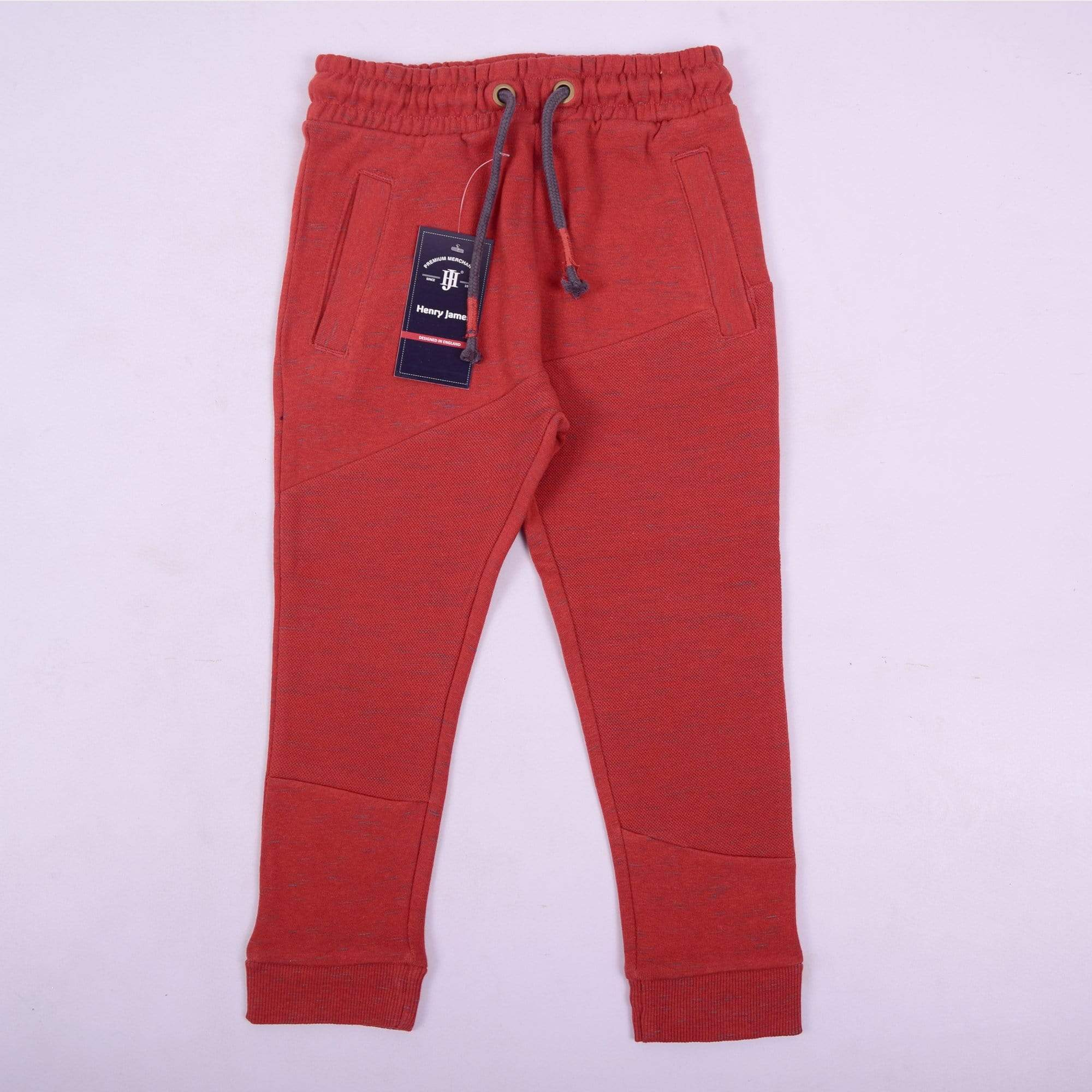 Henry James Kid's Jogger Rust / 1-1.5 Years Boy's Henry James Rust Slub Sweat pants