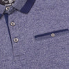 Henry James Marl Short Sleeve Polo Shirt