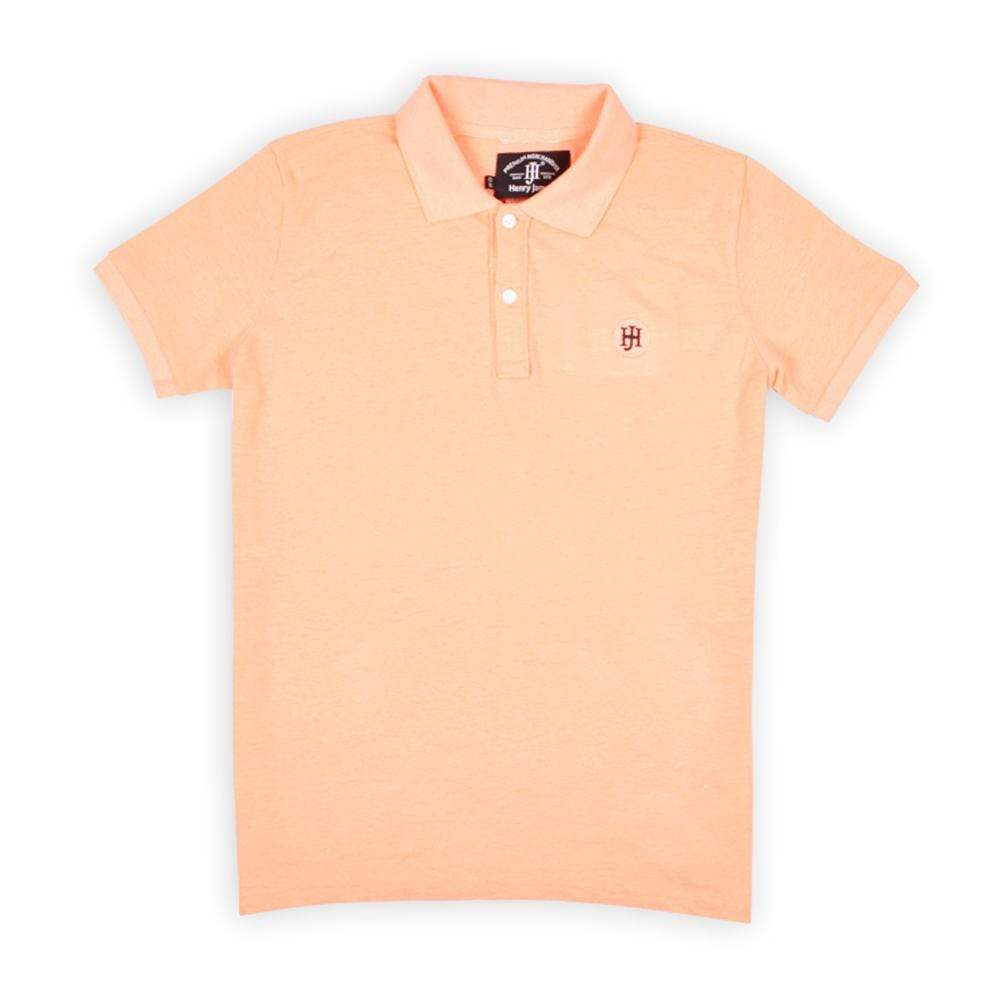 Henry James Kid's Polo Shirt Orange / 5-6 Years FERNANDA SUPER SOFT POLO SHIRT