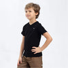 Boy's Henry James Classic V-Neck Neck Tee Shirt