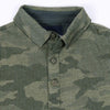 Henry James Kid's T-Shirt Boy's Henry James CAMOUFLAGE Long Sleeve Polo Shirt
