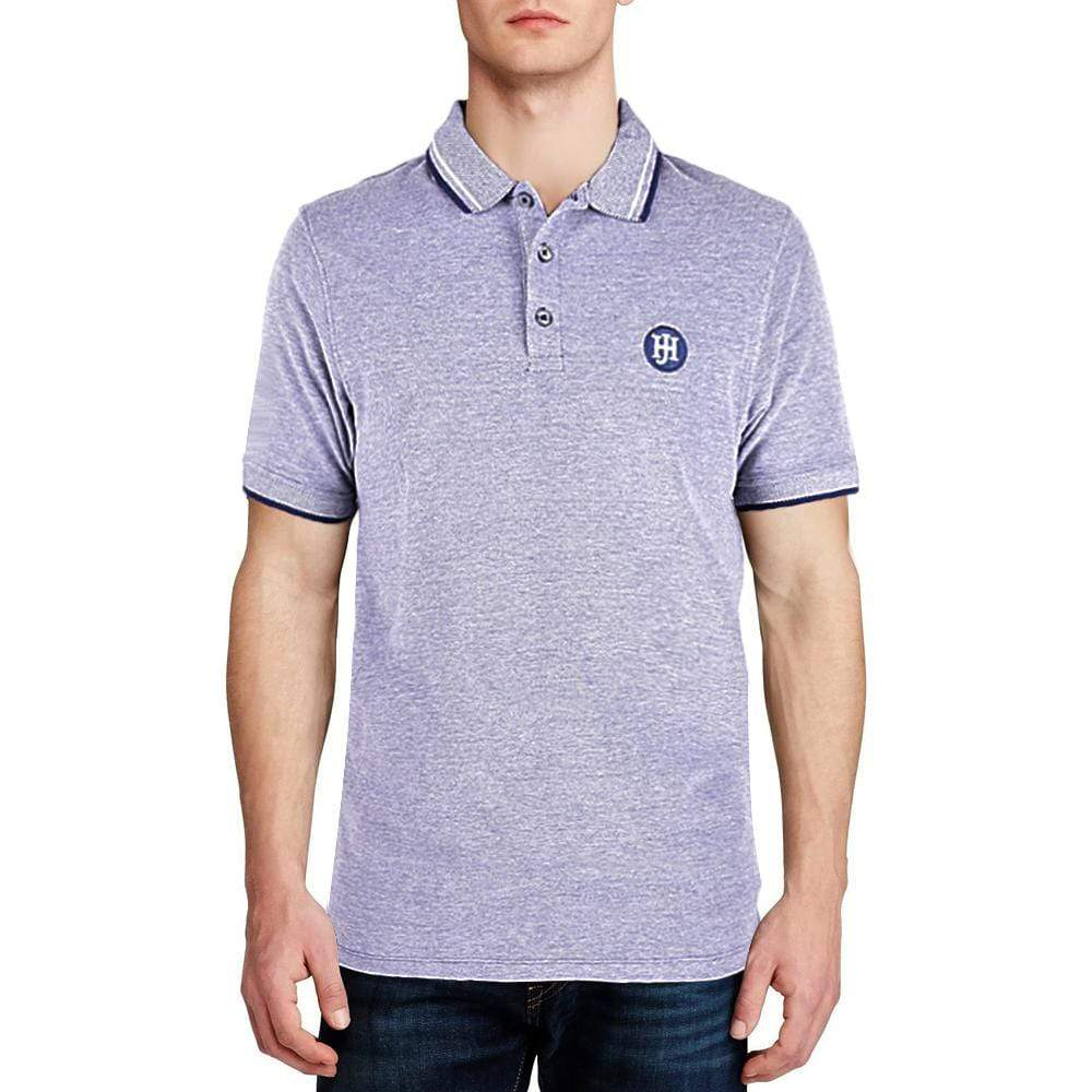 Henry James Men's Polo Shirt Jeans Marl / XS Henry James Zestic Short Sleeve Polo Shirt