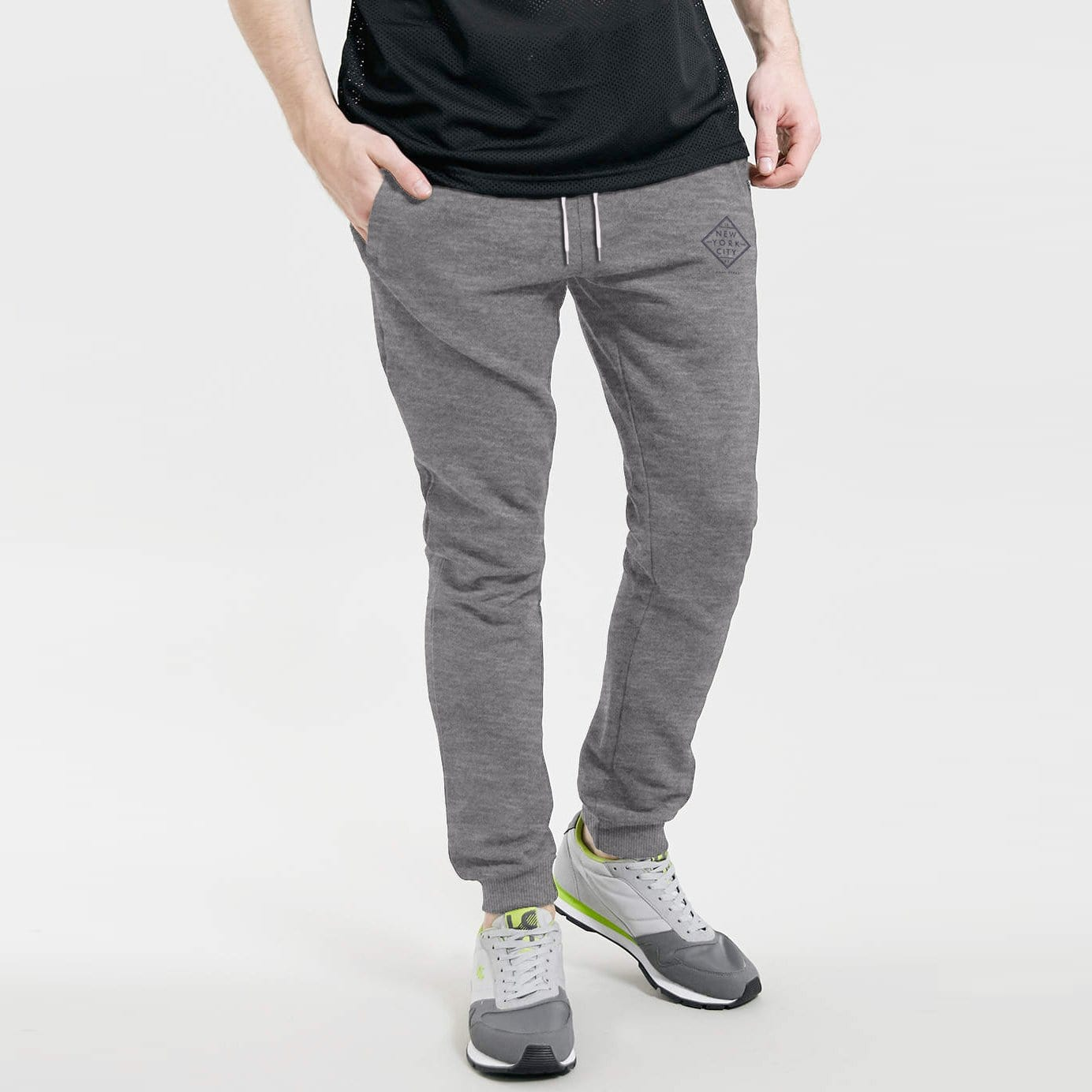 Henry James Men's Sweat Pants Grey Marl / S Men's Henry James Shaft Grey Sweat Pants