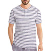 Henry James SHORT SLEEVE Cablo HENLEY SHIRT