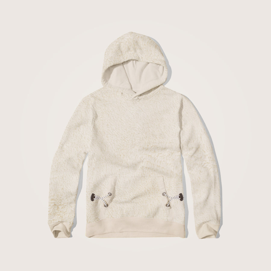 Rhys Sharpa Fleece Kangaroo pocket hoodie