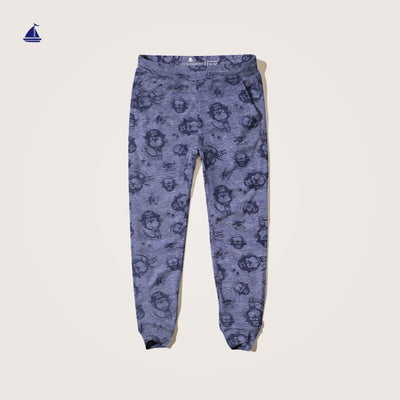 "Stone Harbor Allover Printed""Monkey""  night Suit Set"