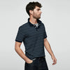 Thiago Short Sleeve Sueded Jersey Polo Shirt - Klashcollection.com