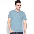 Pedro Contrast neck Shirt Sleeves Henley Shirt
