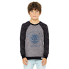 Ambrose Contrast Sleeve graphic Sweatshirt