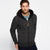 Men's Stone Harbor Fur Lined Melange Zipper Hoodie