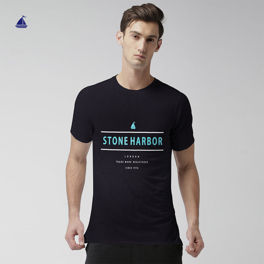 Stone Harbor Signature Printed Super Cool Tee Shirt - Klashcollection.com