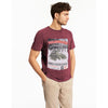 Stefan Short Sleeves Crew Neck Graphic Tee Shirt - Crossconnections.com.pk
