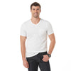 Zelbury V-Neck Short Sleeve Pocket Tee Shirt