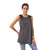Natalia Burnout Sleeveless long top