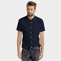 Maximiliano Short Sleeve Pique Casual Shirt