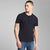 Zachary Short Sleeve Slub Yarn Henley Shirt