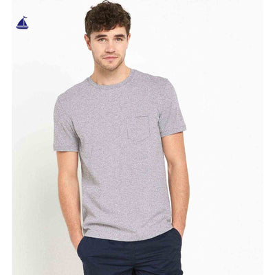 Pedro Textured Crew Neck Pocket T-Shirt - Klashcollection.com