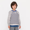 Boy's Cotton Sensations FALTIC CREW NECK SWEATSHIRT