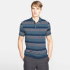 Harrison Ocean Striped Short Sleeve Pocket Polo Shirt