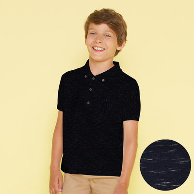 Knitnighter Short Sleeve Button Down Pocket Polo Shirt - Klashcollection.com