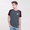 Reuben Raglan Sleeve Graphic Tee Shirt - Klashcollection.com