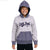 Finlay Athletic Raglan Sleeve Textured embellished Zipper hoodie