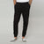 Balthazar Leather Printed Close Bottom Joggers with zipper pockets