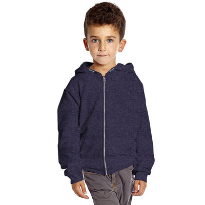 Fergus Zipper Hoodie with Back Print