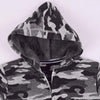 Stone Harbor Boy's Zipper Hoodie Boy's Stone Harbor Camouflage Fur Lined Zipper HOODIE