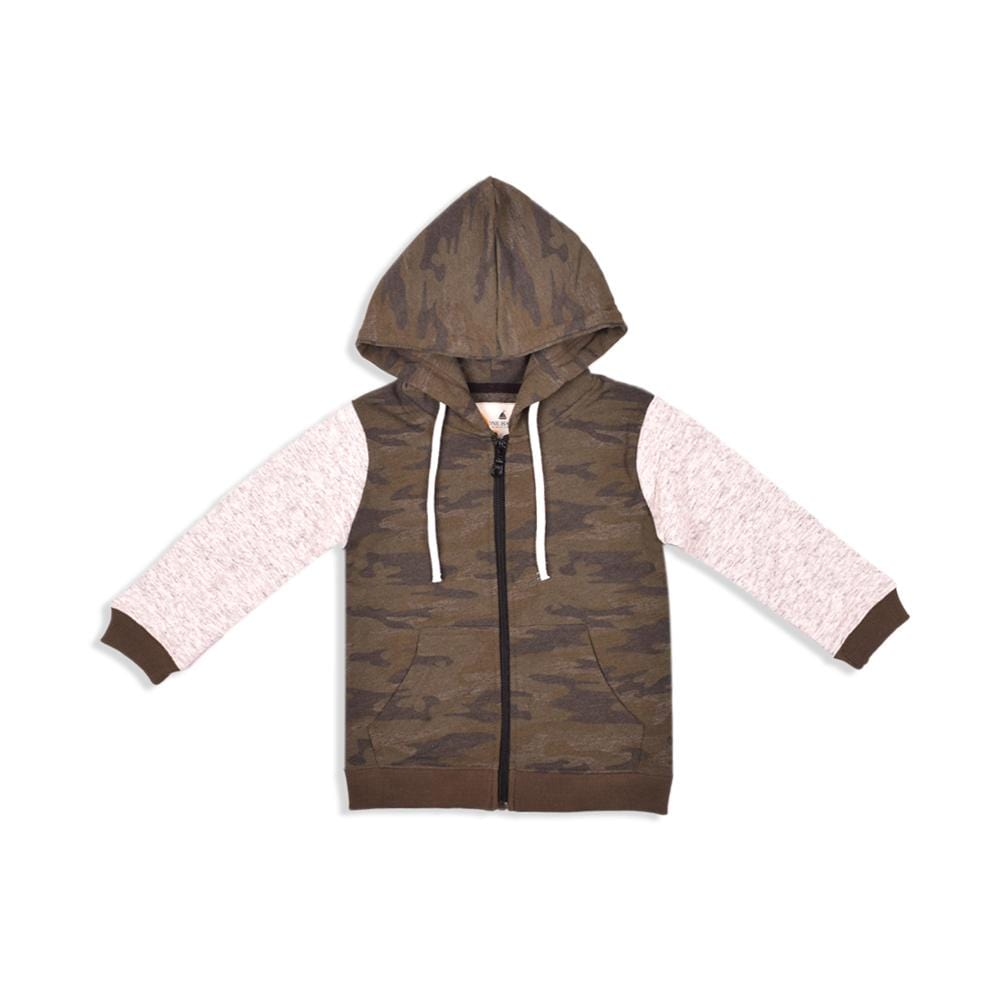 Stone Harbor Boy's Zipper Hoodie Camo / 2-3 Years Boy's Stone Harbor Camouflage Zipper Hoodie