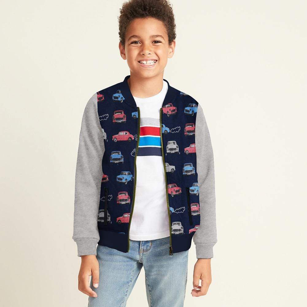 Stone Harbor Boy's Zipper Hoodie Navy / 2-3 Years Boy's Stone Harbor VOLTIC BOMBER JACKET