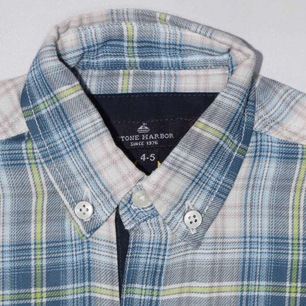 Stone Harbor Kid's Casual Shirt Blue / 2-3 Years Boy's Stone Harbor Flaber Casual Shirt