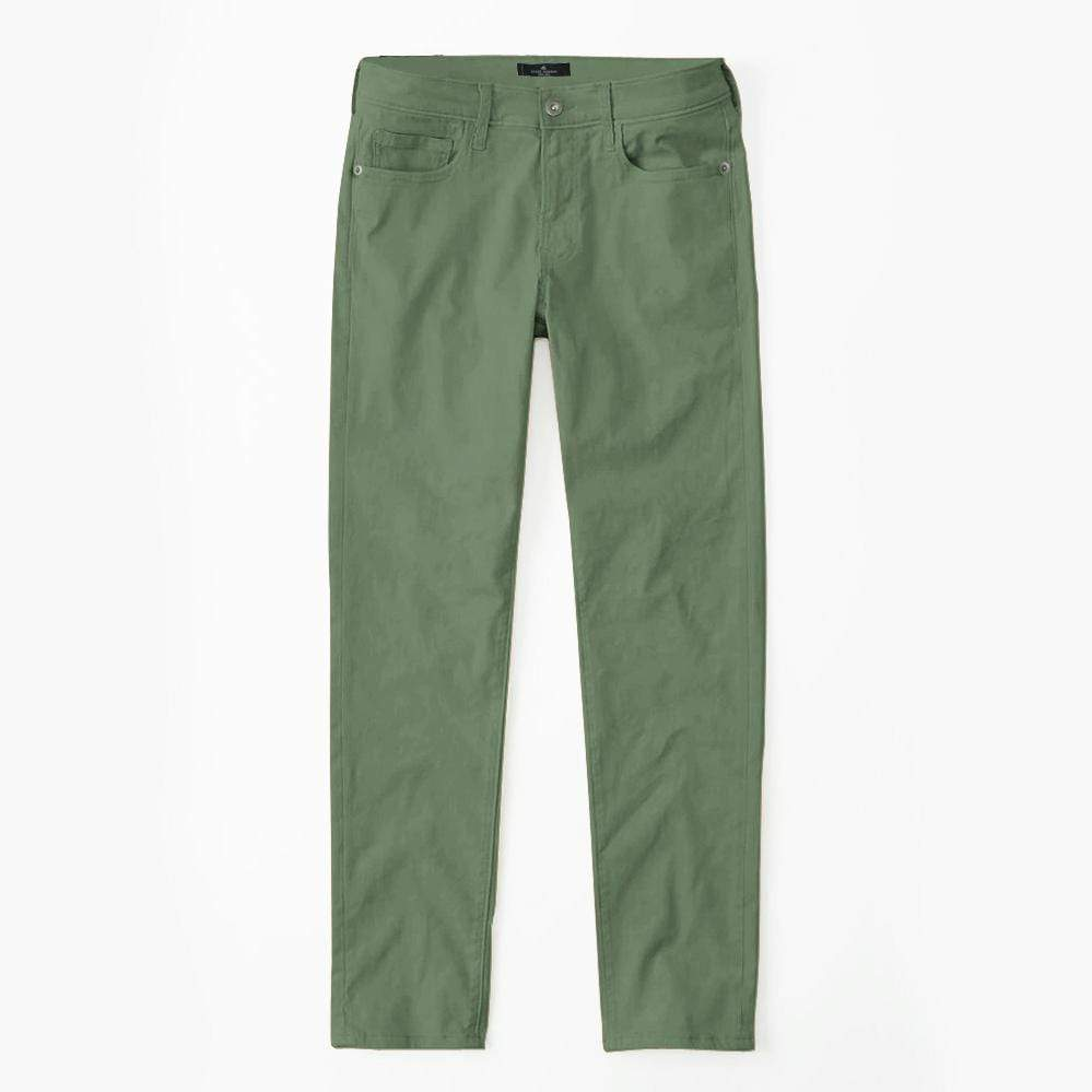 Stone Harbor Kid's Denim Army Green / 2-3 Years STONE HARBOR Army Green Cotton Pants