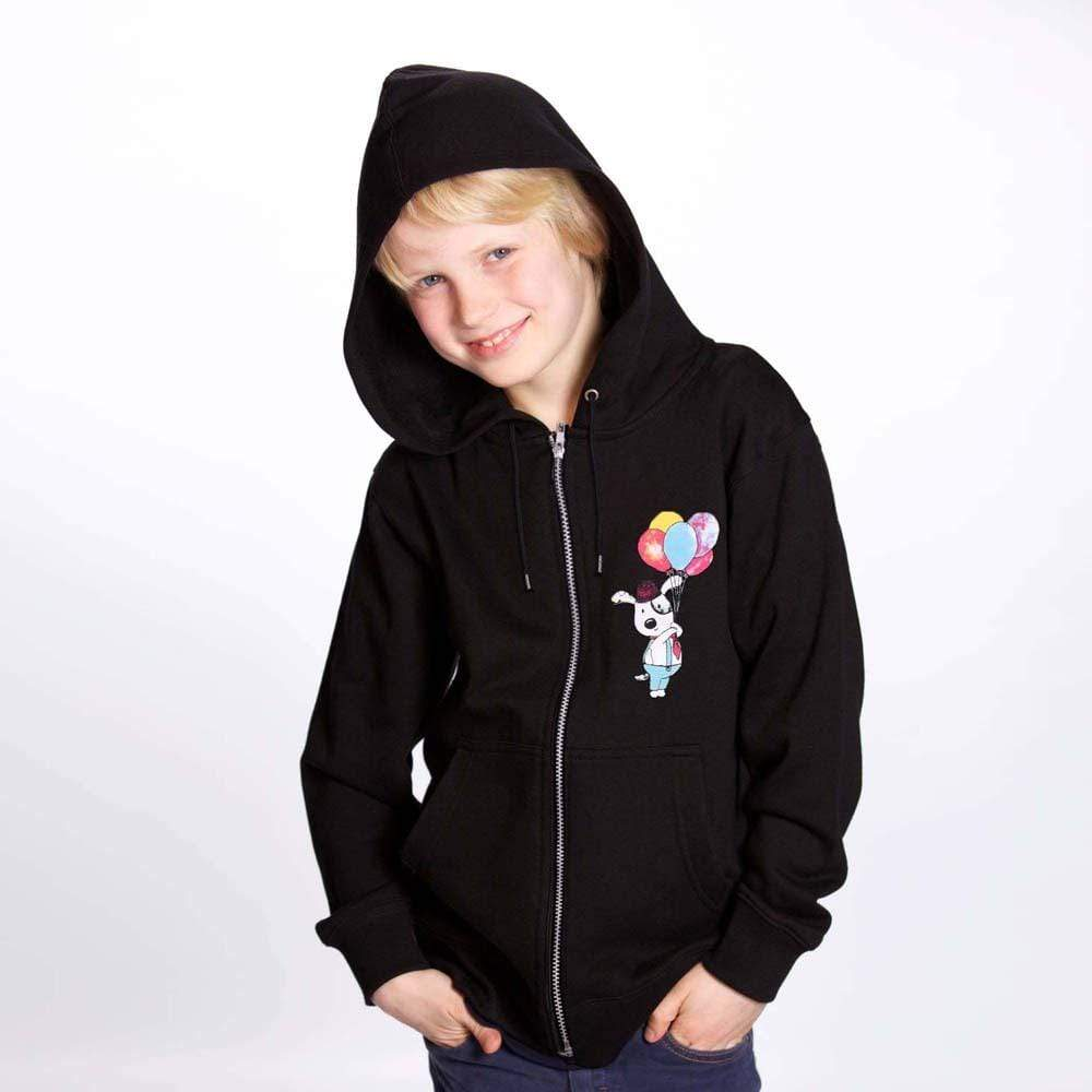 Stone Harbor Kid's Hoodie 2-3 Years / Black Stone harbor happy Droopy Graphic zipper hoodie
