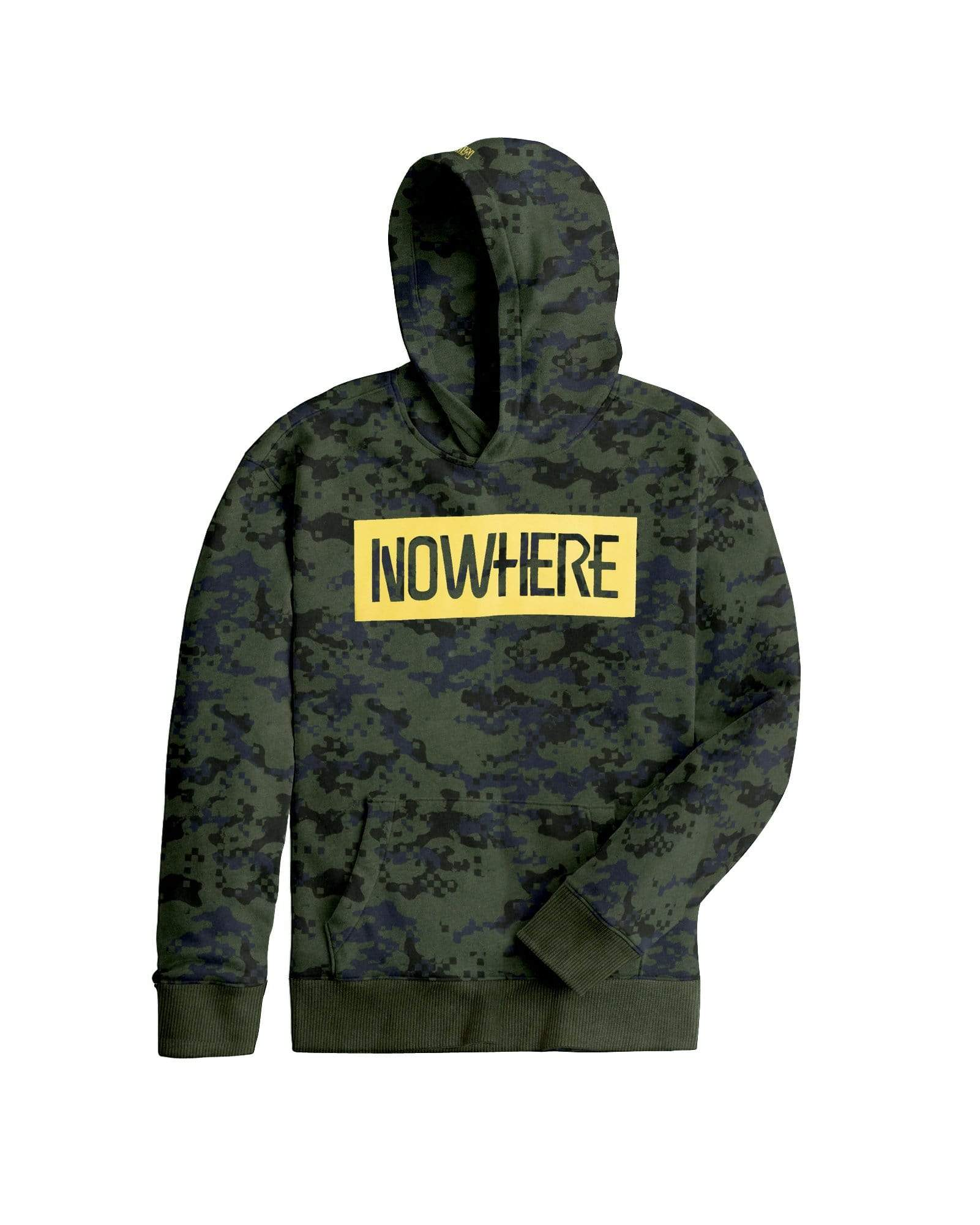 Stone Harbor Kid's Hoodie 9-10 Years / Green Boy's Henry James NOWHERE CAMO SWAG PULLOVER Hoodie
