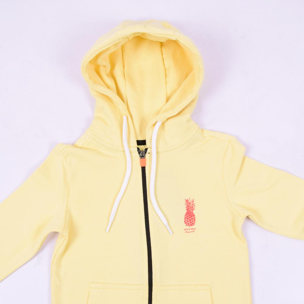 Stone Harbor Kid's Hoodie Yellow / 2-3 Years Girl's Stone Harbor Pine Zipper Hoodie