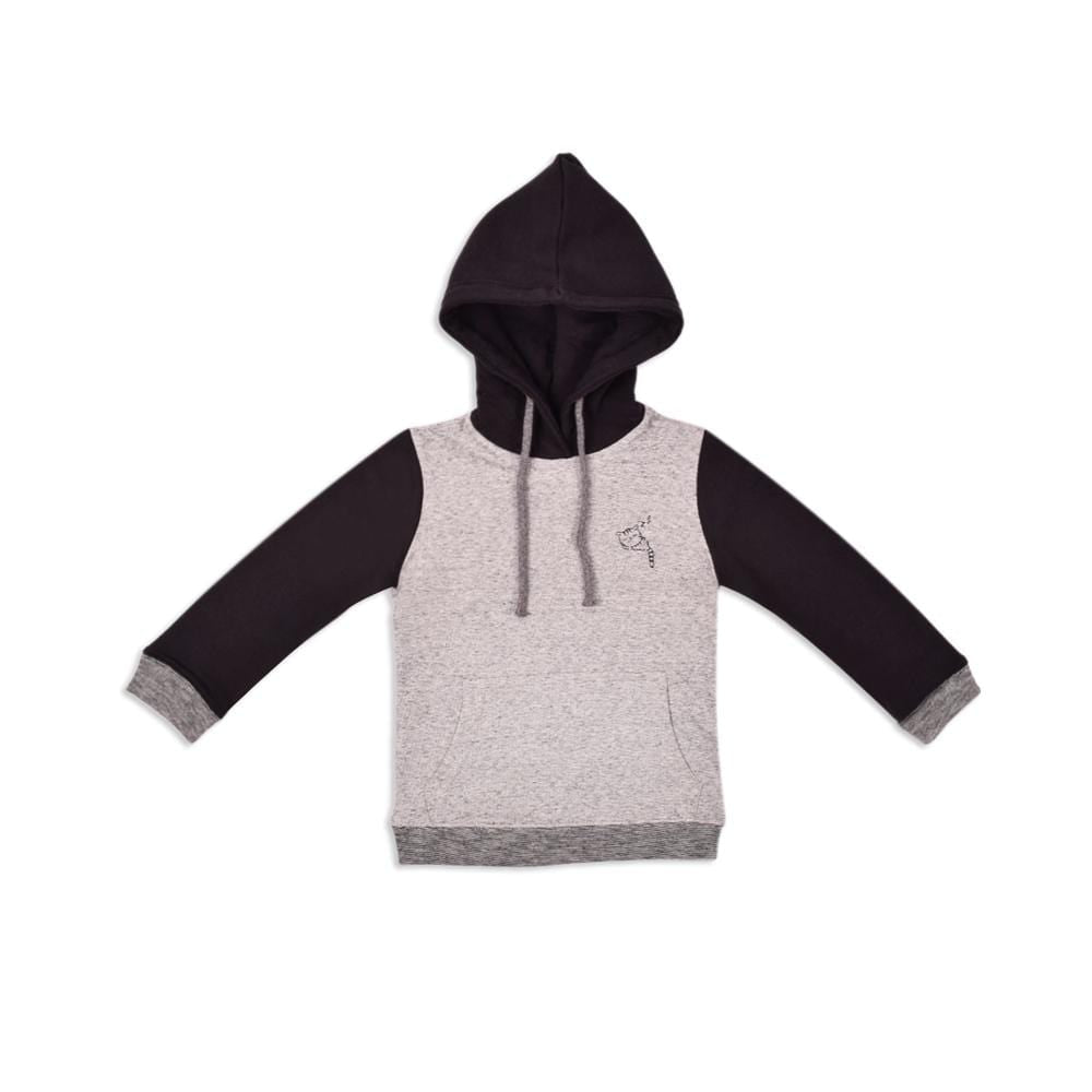 Stone Harbor Kid's Hoodie Grey / 2-3 Years Girl's Stone Harbor Kitten Pullover Hoodie
