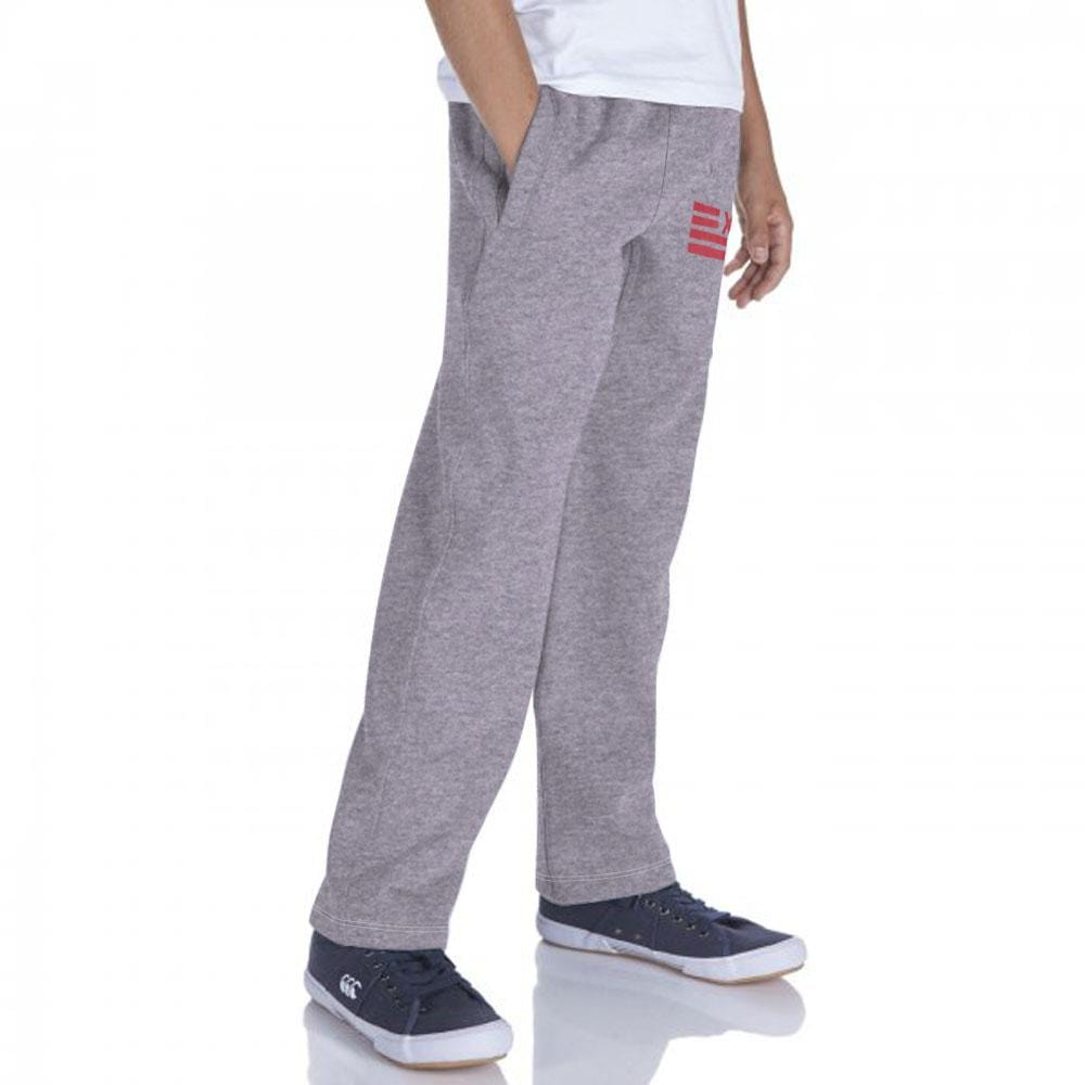 Stone Harbor Kid's Jogger Charcoal / 2-3 Years Rex heavy fleece Printed Open Bottom Sweatpants