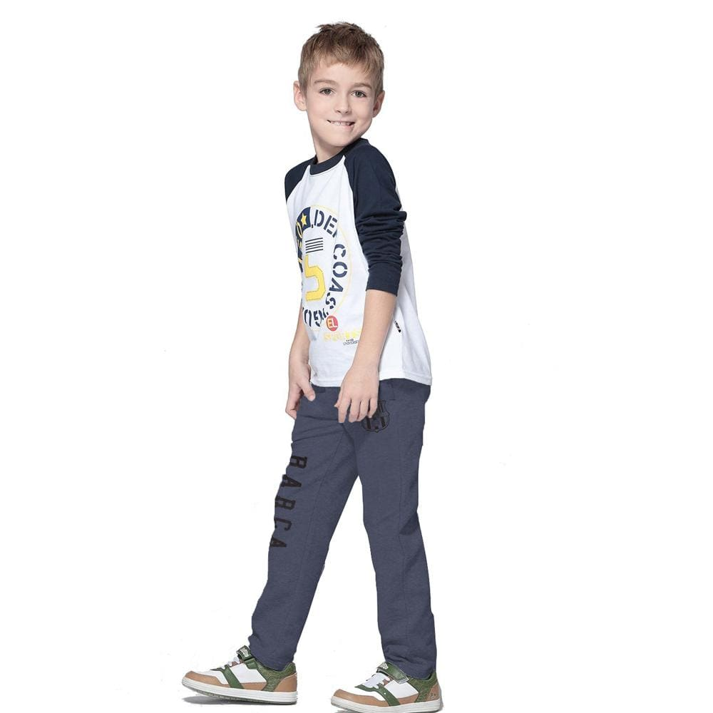 Stone Harbor Kid's Jogger Grey Marl / 2-3 Years Stone harbor Athletic FCB CLUB Slim Fit Trousers