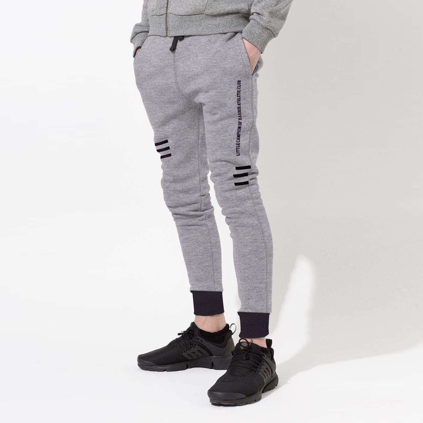 Stone Harbor Kid's Jogger Grey Marl / 4-5 Years Stone harbor Little Champion Ringer Close bottom Jogger Pants