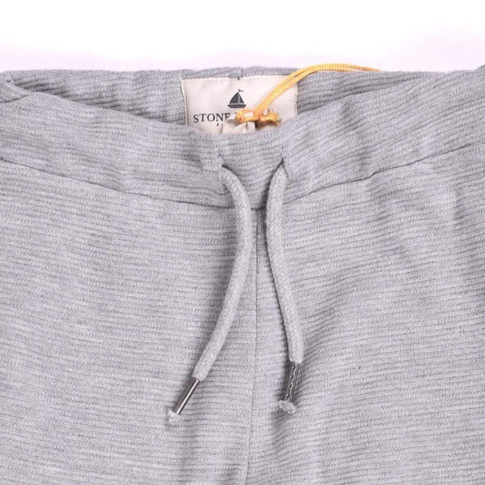 Stone Harbor Kid's Jogger Grey / 2-3 Years Stone Harbor Ripple Open Bottom Trousers With Contrast Panels