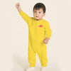 Stone Harbor Kid's Romper Yellow / 0-3 Months Boy's Stone Harbor Short Sleeve Fleece Romper
