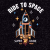 "Stone harbor Nap yarn ""Ride To Space"" graphic Sweatshirt"