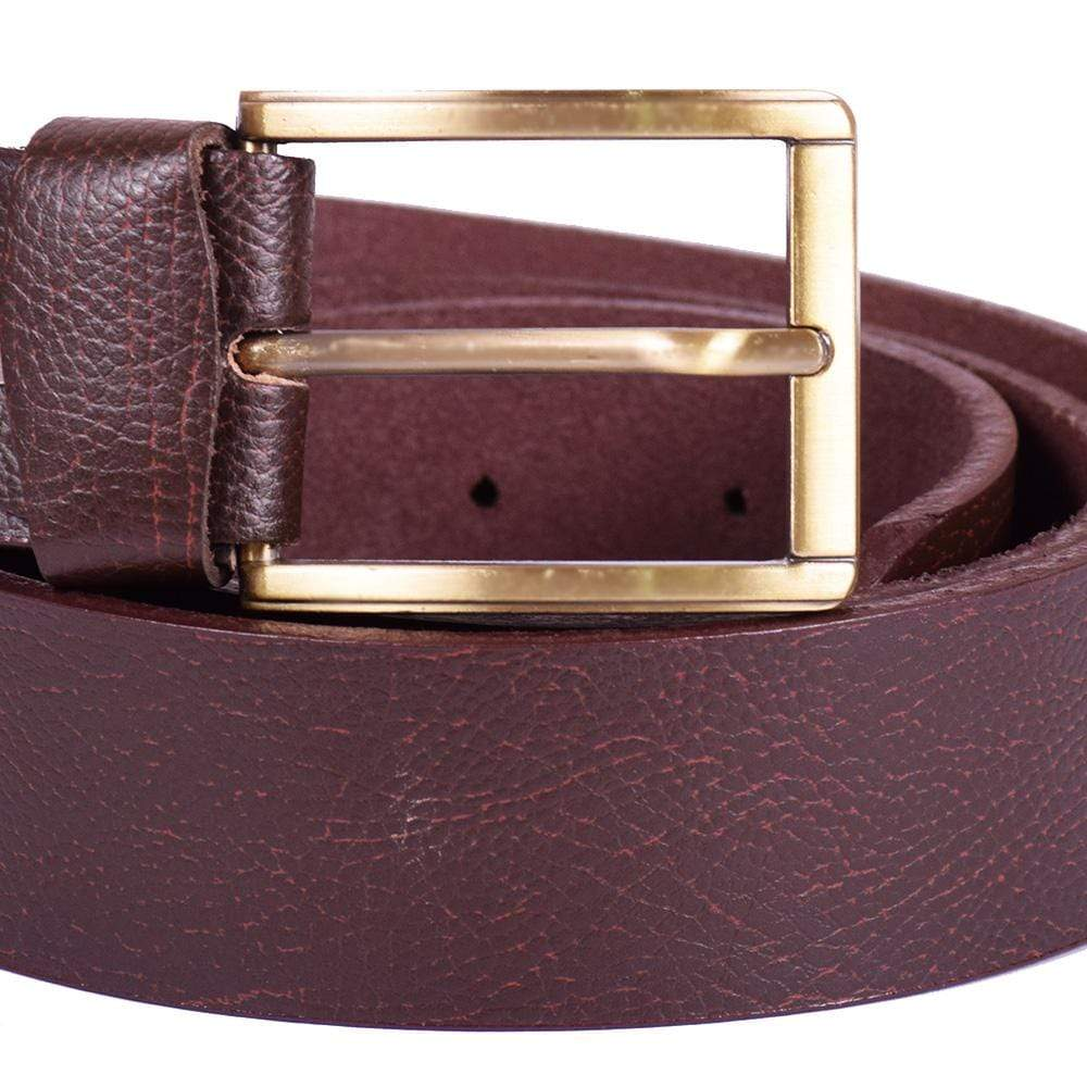 Stone Harbor Men's Belt 40 Inches STONE HARBOR MEN'S BRONO Textured LEATHER BELT