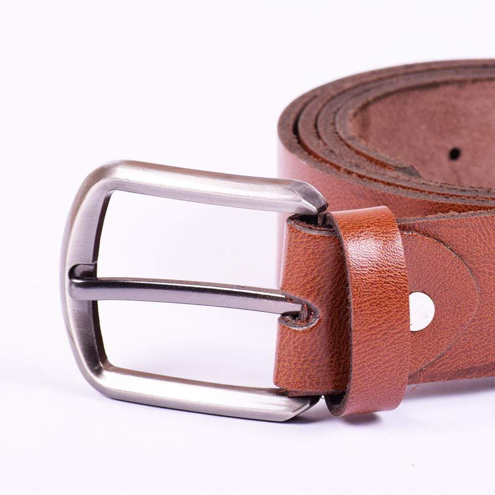 STONE HARBOR MEN'S GLOTS Textured LEATHER BELT - Crossconnections.com.pk
