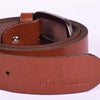 STONE HARBOR MEN'S GLOTS Textured LEATHER BELT