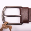 STONE HARBOR MEN'S MOTIF LEATHER BELT